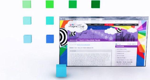 3D Desktop Concept