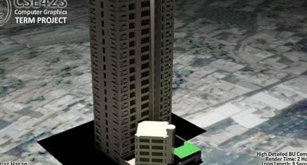 3D Model CG Project