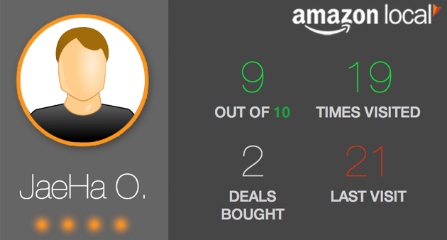 Amazon Local Punch Card