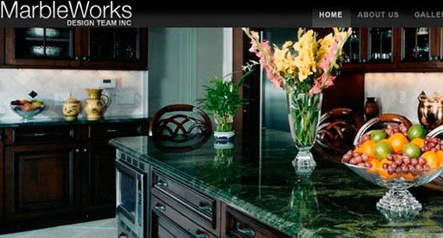 MarbleWorks - Flash Website