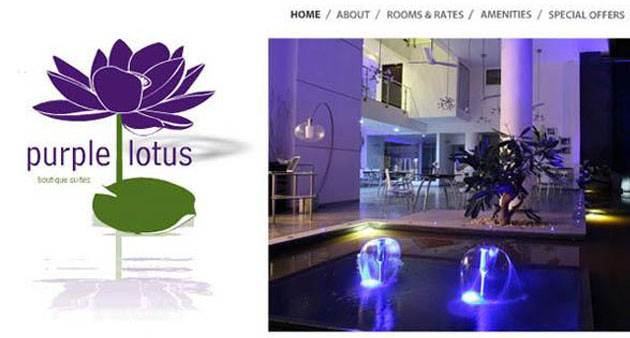 PurpleLotus Flash Website