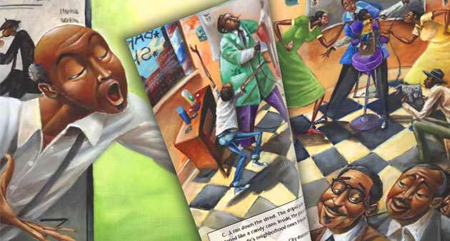 Sweet Music in Harlem - Interactive Book
