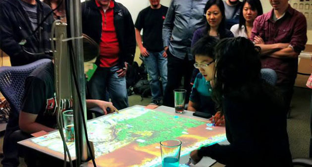 Interactive Table-top Game